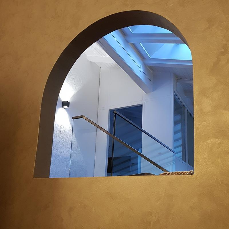 Glas Wohnbereich